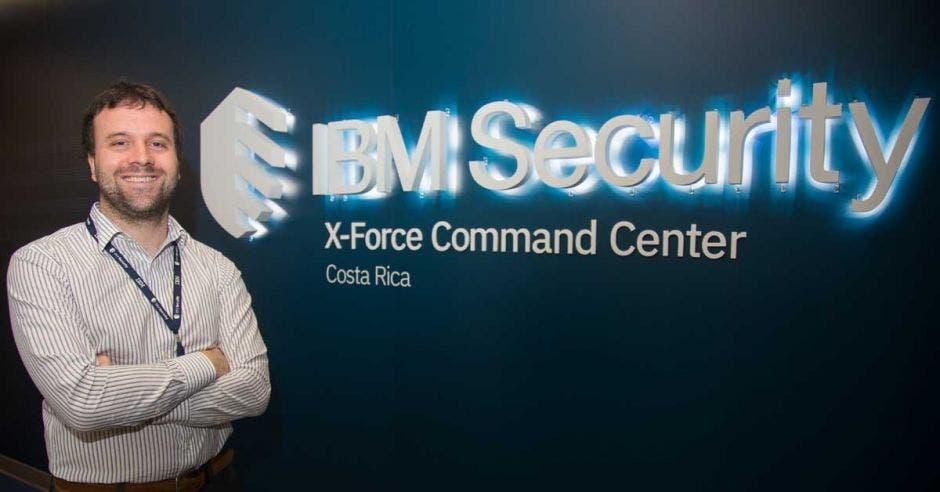 Matías Haidbauer, líder de los Servicios de Ciberseguridad en IBM Costa Rica