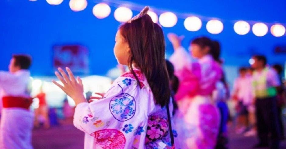 Feria en Japón