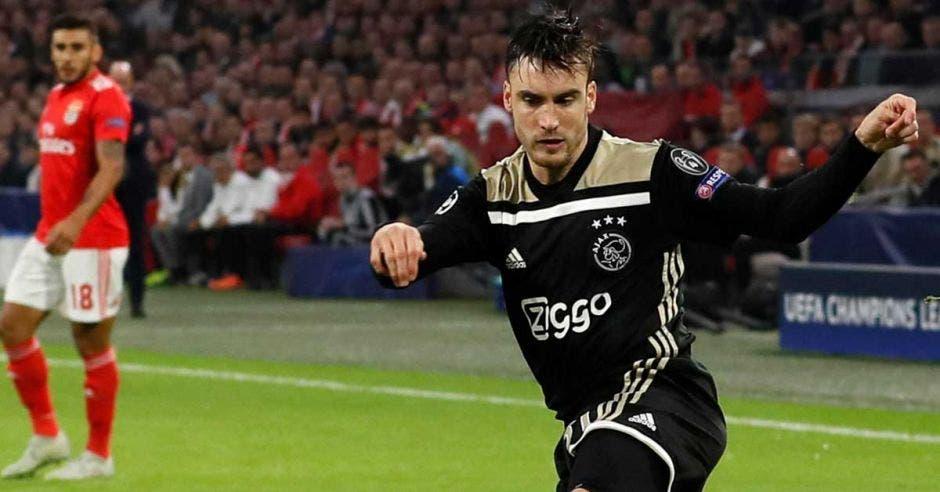 Nicolás Tagliafico, estrella del Ajax