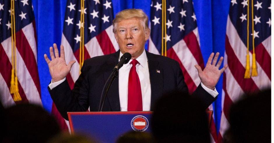 Trump aún afirma mantenerse abierto al diálogo con los norcoreanos. Archivo/La República