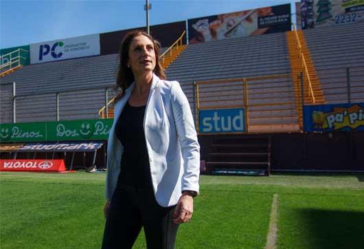 """""""Soy primero profesional y después aficionada, no al revés. No hay que envenenarse ni dejar el profesionalismo de lado"""", dijo Marcela Trejos. Luis Diego Romero/La República"""
