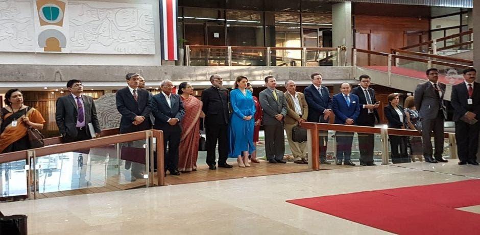 Visita delegación de India
