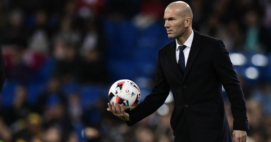 Zinedine Zidane regresa tras su marcha en mayo del 2018. AFP/La República