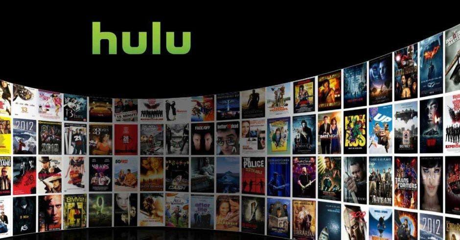 Interfaz de Hulu