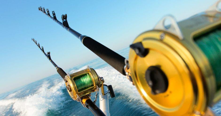 Alguien pescando