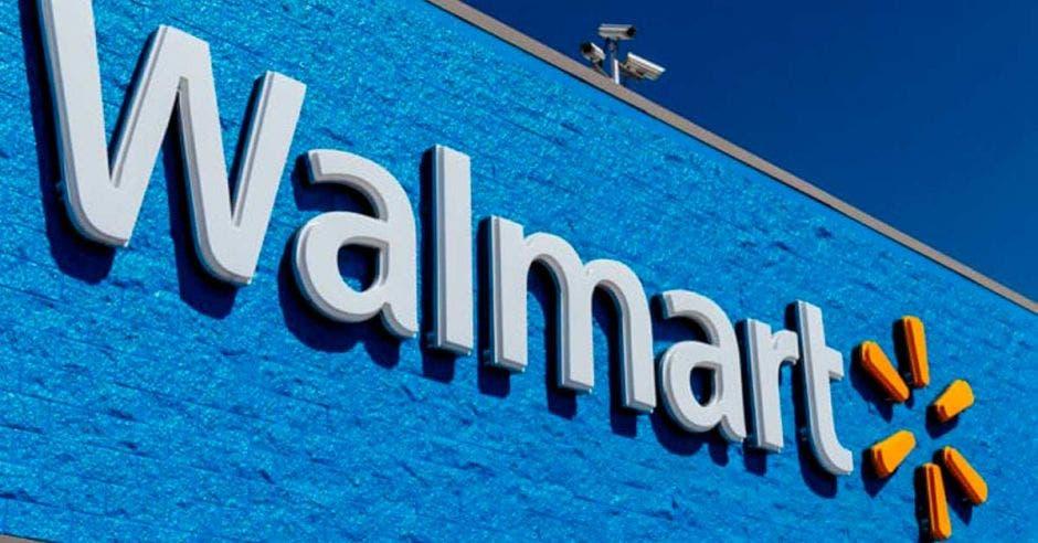 Fachada supermercado Walmart