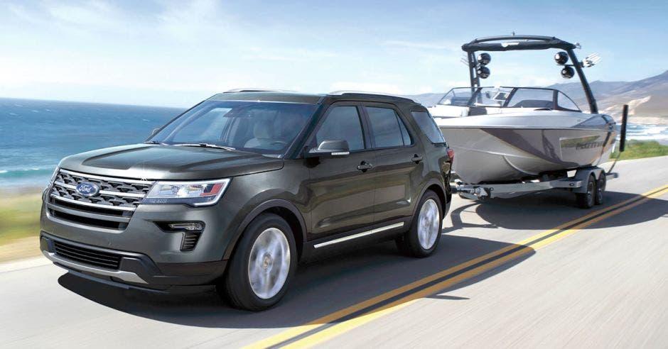 El Ford Explorer es de los modelos más llamativos de Ford. Grupo Automotriz/La República