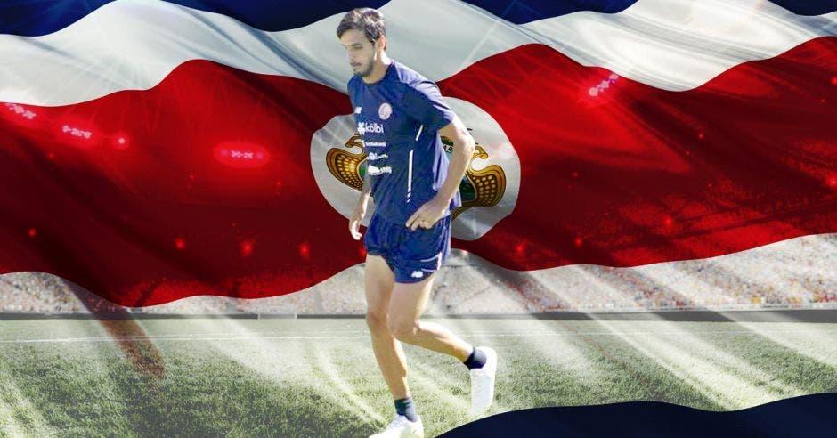 Bryan Ruiz, capitán de la Tricolor, va a examen de capacidad.