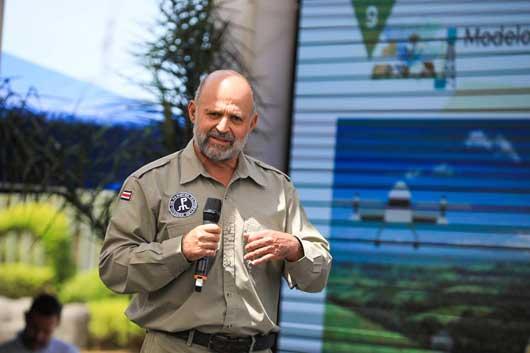 Carlos Manuel Rodríguez, ministro de Ambiente y Energía.