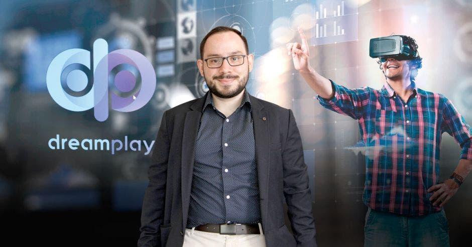 La misión de la iniciativa es ser un puente para traer las más nuevas e innovadoras tecnologías al país, dijo Roy Martínez, cocreador de DreamPlay. Esteban Monge/La República