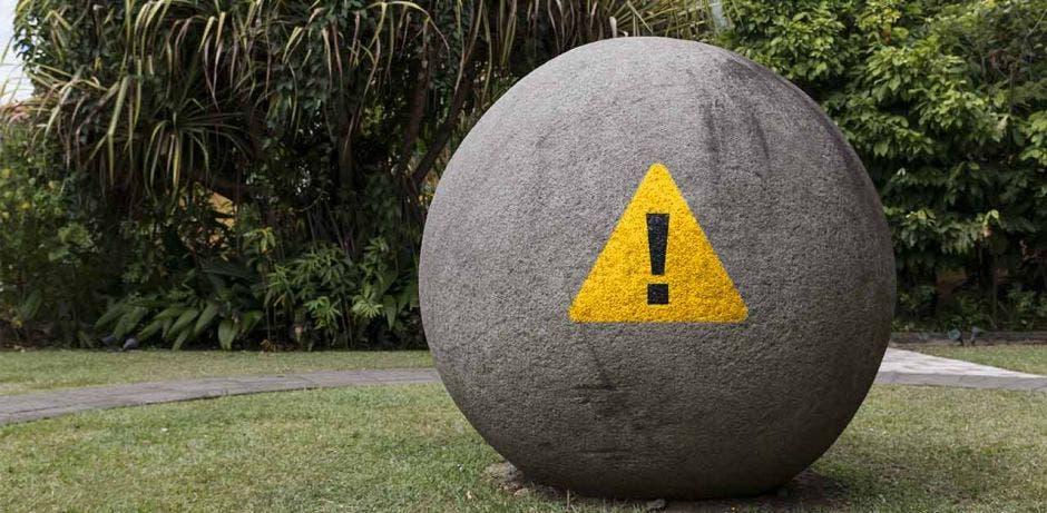 Una esfera precolombina