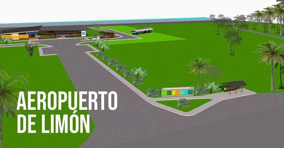 diseño de la nueva terminal