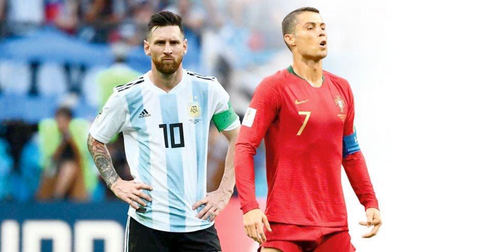 Messi y Ronaldo regresaron a sus selecciones tras varios meses. Archivo/La República