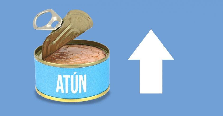 atún en lata