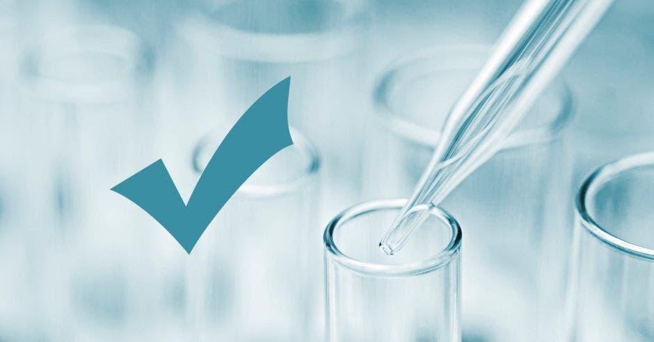 Análisis de laboratorio de agua