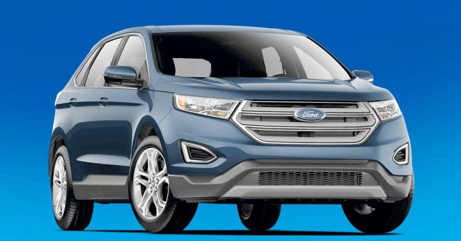 El Nuevo Edge viene con cambio de línea tecnología adicional y comodidad en su interior. Ford/La República