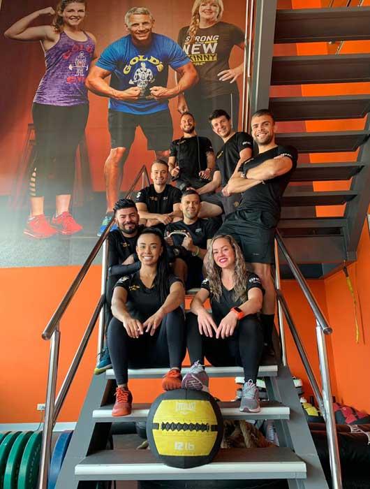 Entrenadores de Gold's Gym Moravia.