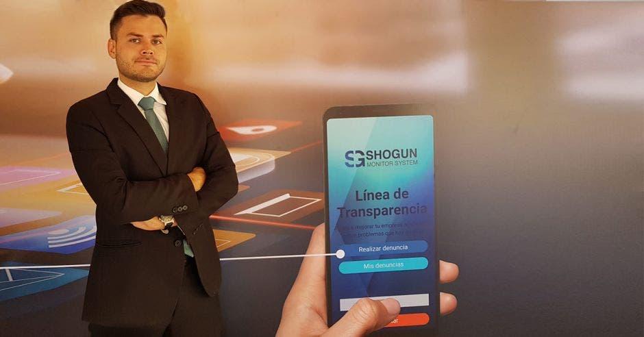 André Barrantes, CEO de Shogun Monitor System