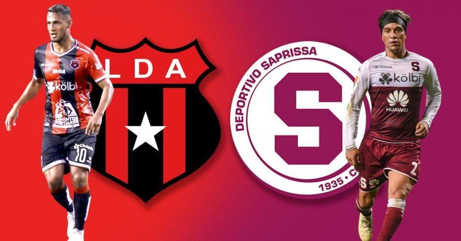 Alex López y Christian Bolaños tendrán un duelo por controlar los hilos del juego en medio campo y ofensiva. LDA-SAP/La República