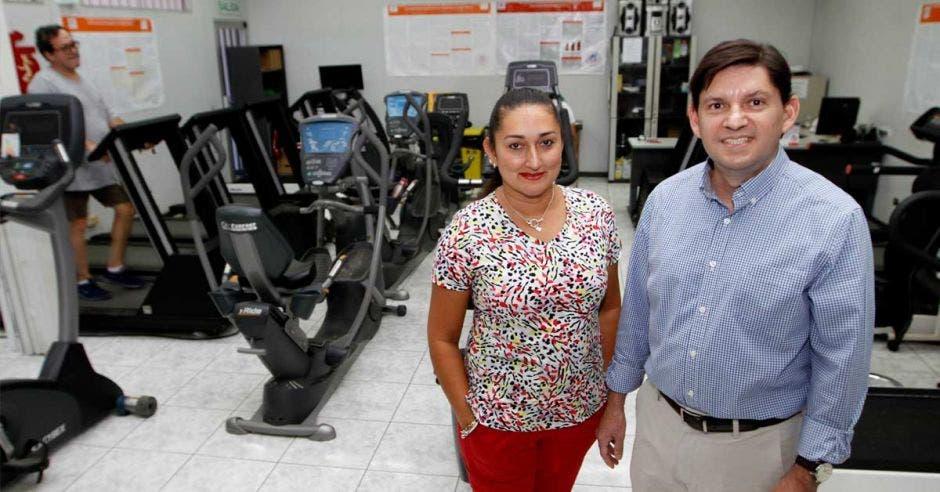 Vera Rodríguez y Felipe Araya