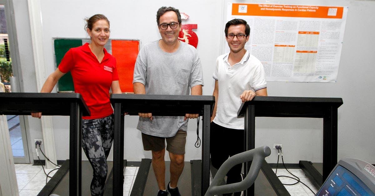 Personas en el Centro de Rehabilitación Cardiovascular