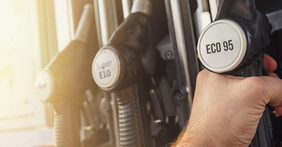 Tanque con etanol