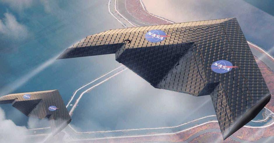 Este prototipo mide cuatro metros de largo y también sería ideal para viajes al espacio. NASA/La República