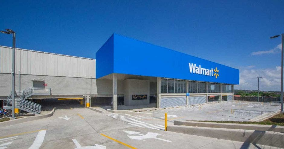 fachada de Walmart