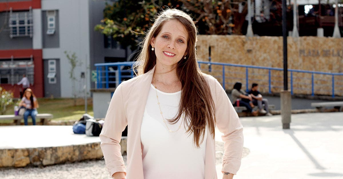 Ana Beatriz Murillo, coordinadora del Centro de Desarrollo Gerencial de la UNA