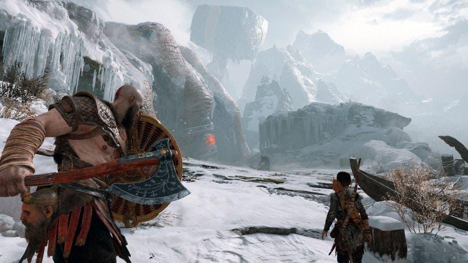 Kratos y su hijo