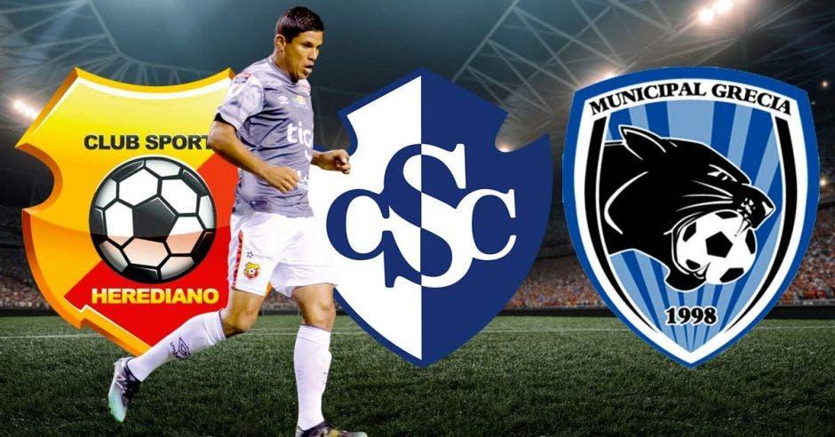 Herediano, Cartaginés o Grecia se dejarán el último boleto a semifinales. CSH/La República