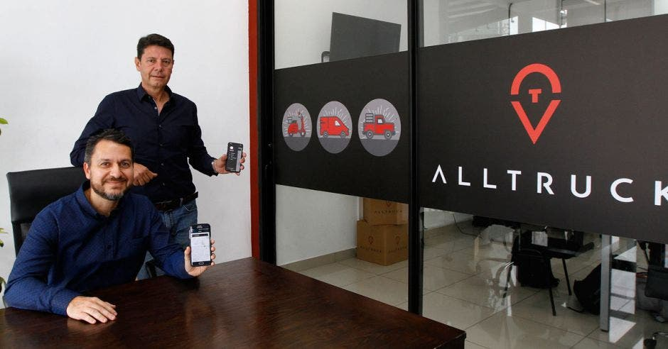 Alexander Uhrig y Leonel Feoli son los socios fundadores de AllTruck.