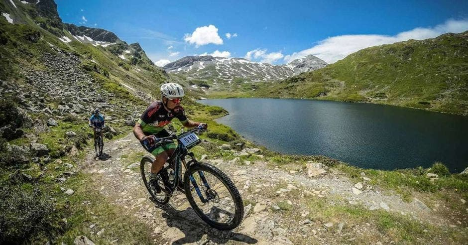 Los paisajes paradisíacos acompañarán a los pedalistas en todo el recorrido. Bikecr/La República