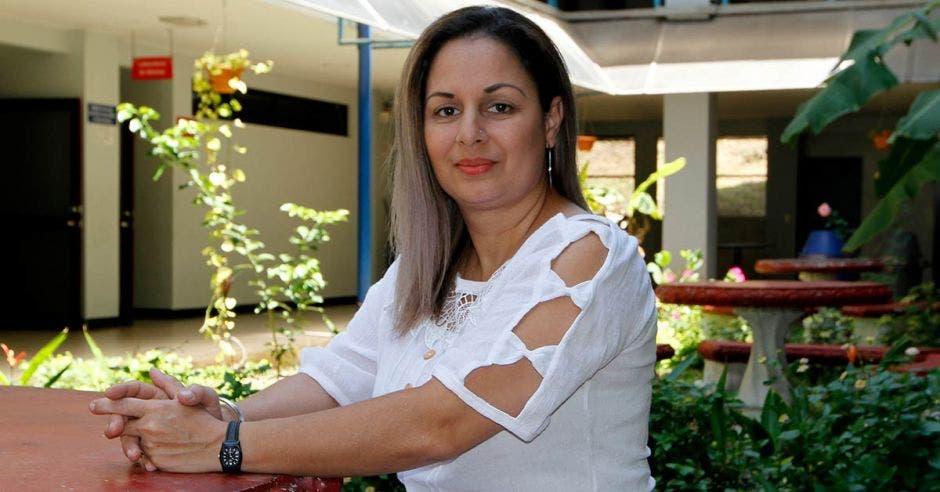 Mayra Loaiza en el CEIC de la UNA