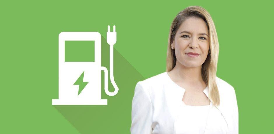 """""""Se trata de carga rápida donde las personas cargarán el 80% de la batería de su vehículo en un tiempo estimado de 20 minutos"""", señaló Claudia Dobles, primera dama de la República."""
