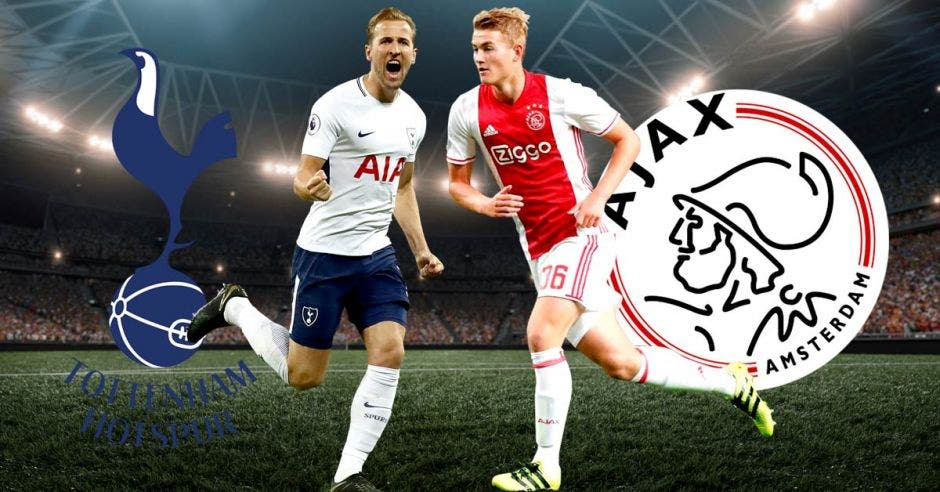 Spurs y Ajax buscan entrar entre los mejores del mundo. Archivo/La República