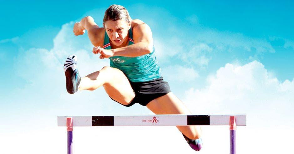 Andrea Carolina Vargas voló sobre la pista y está a un salto de los Juegos Olímpicos Tokio 2020. CON/La República