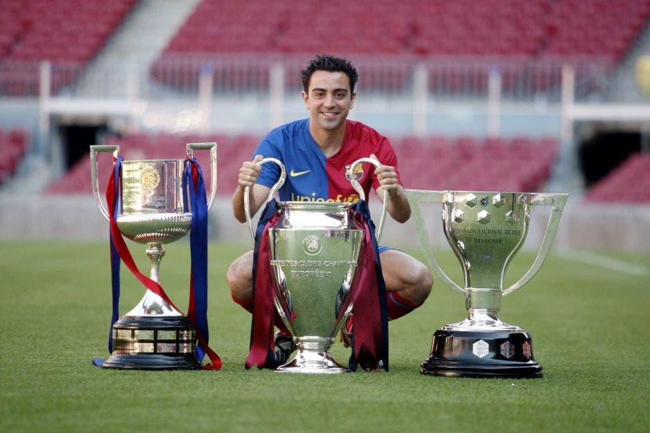 El Balón de Oro fue de los pocos trofeos que Xavi no ganó. Archivo/La República