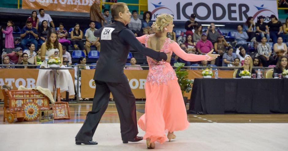 Los mejores bailarines del país se reunirán en el Gimnasio Nacional. Fecobade/La República