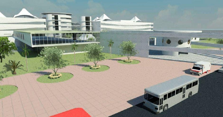 Proyecto nuevo hospital de Puntarenas