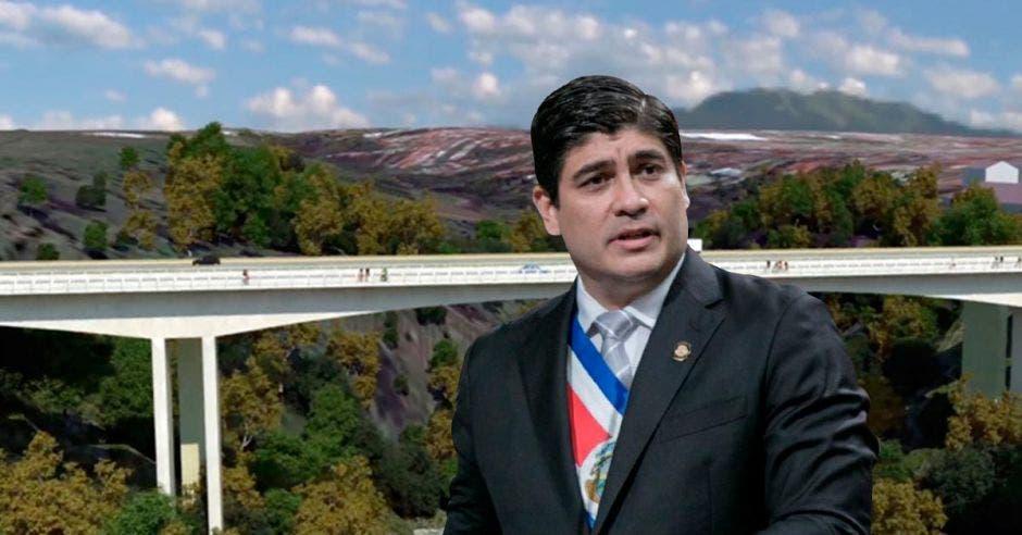 Obras viales a las que se comprometió Carlos Alvarado