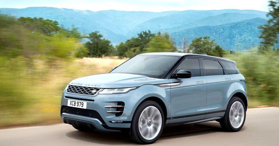 El nuevo Range Rover Evoque adoptará la imagen del Velar en dimensiones menores. Land Rover/La República