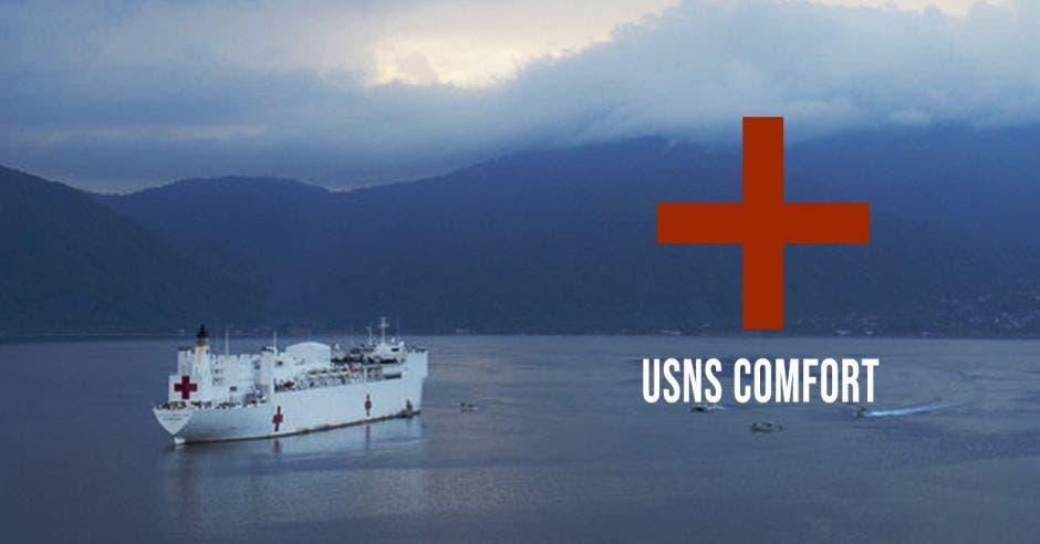Buque hospital vuelve a Centroámerica