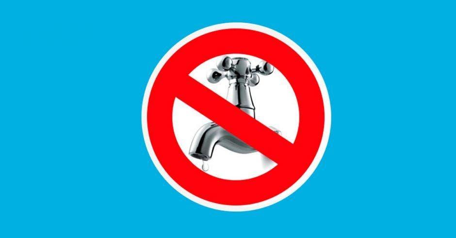 Suspensión agua potable
