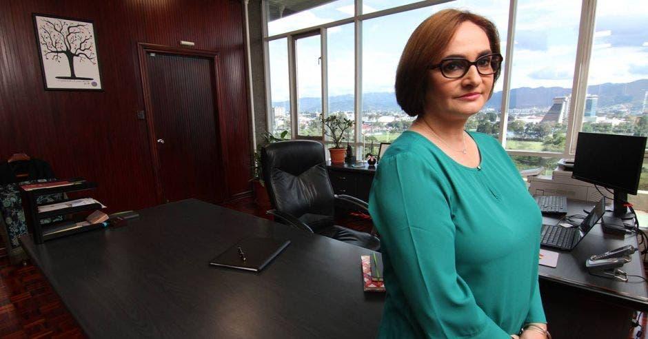 Irene Cañas, presidenta del ICE