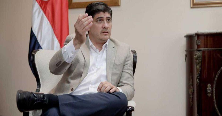 Alvarado fue asesor del PAC y en la Asamblea Legislativa en diferentes momentos de su vida laboral. Archivo/La República