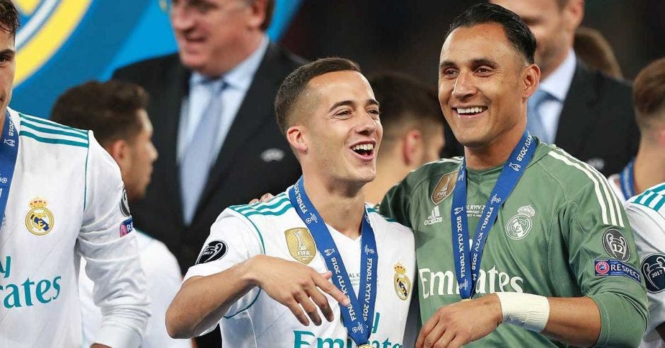 Keylor ganó tres Champions con el Real Madrid. Archivo/La República