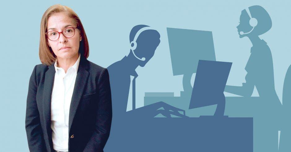 Los bancos se comprometen a seguir un protocolo para erradicar los casos de acoso por cobro de deuda, según María Isabel Cortés, directora ejecutiva de la Asociación Bancaria Costarricense. Archivo/La República