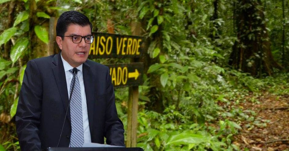 Rolando Castro, ministerio de Ambiente