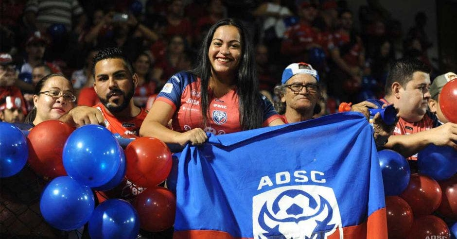 Afición se hizo presente en el Carlos Ugalde para celebrar con el equipo. Imagen con fines ilustrativos. ADSC/La República